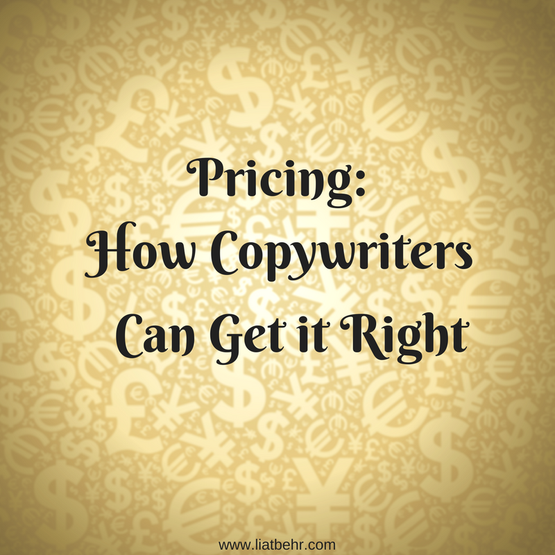 Pricing: How Copywriters Can Get It Right