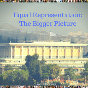 Equal Representation in the Knesset
