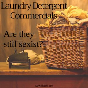 Are laundry detergent commercials still sexist