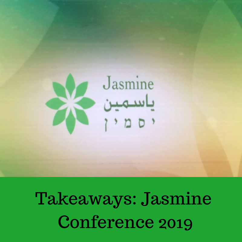 The Gems I Picked Up at the Jasmine Conference 2019