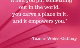 Tamar Weiss-Gabbay – Author, Editor, Screenwriter