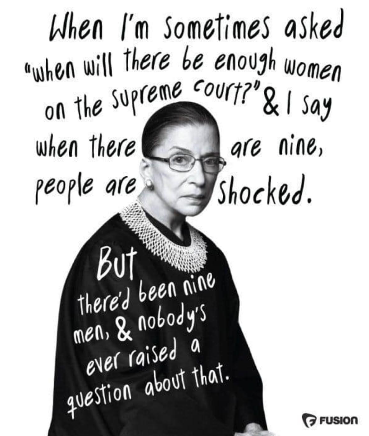 Social Media Says Thank You to Ruth Bader Ginsburg
